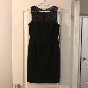 Ivanka Trump black lace top dress